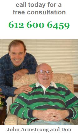 John Armstrong and Don John Senior Care Errands and Things Minneapolis Saint Paul
